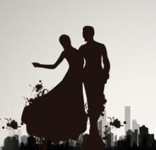 新娘新郎图片