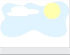 太阳天空云层背景