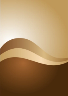 棕色曲线背景图片