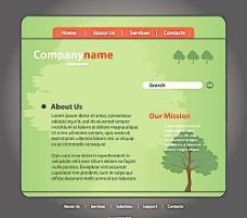 绿色自然网页图片
