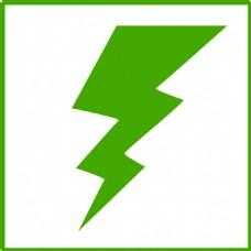 生态绿色能源图标