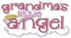 童装 绣花 卡通 文字 英文 免费素材
