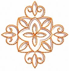 绣花 植物花卉 花纹 家纺 免费素材