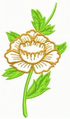 绣花 植物花卉 家纺 免费素材