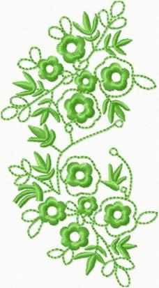 2015年绣花矢量图