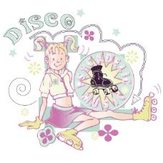 印花矢量图 女童 T恤图案 可爱卡通 人物 免费素材