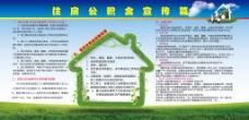 企业住房公积金宣传栏