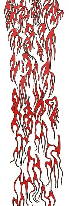 火焰纹身图片图片
