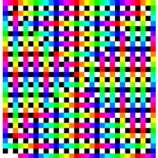 有组织的五彩纸屑