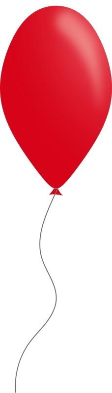 红色的气球