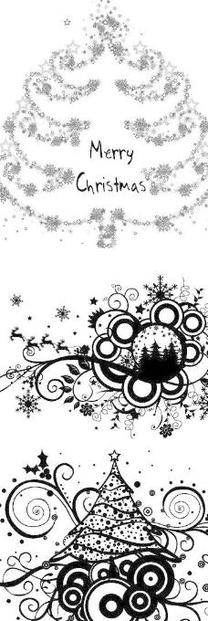 圣诞节花纹矢量图14