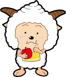 印花矢量图 卡通动物 可爱卡通 色彩 懒羊羊 免费素材图片