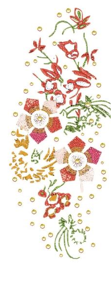 绣花矢量图2015年