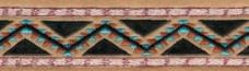 绣花 花纹 藤条 花边 色彩 免费素材