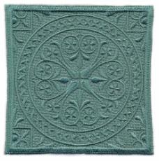 绣花 花纹 花边 色彩 绿色 免费素材