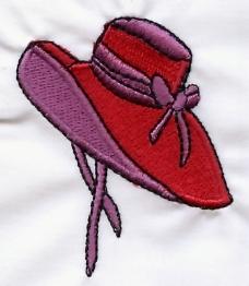 绣花 花纹 图标 色彩 帽子 免费素材
