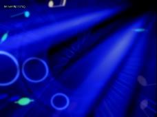 蓝色光效视频素材