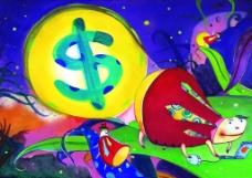 视金钱如粪土漫画