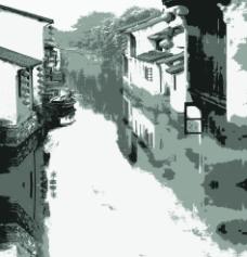 古镇风景图片
