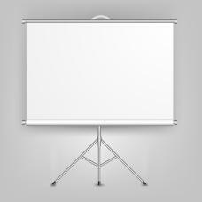 空白演示文稿展板矢量素材
