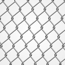 精致铁丝网矢量素材