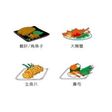 日本海鮮美食