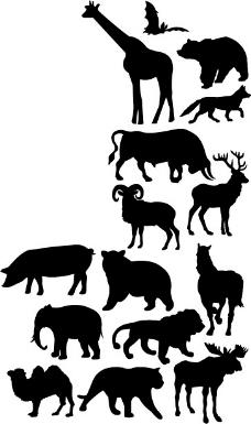 印花矢量图 动物 醍醐