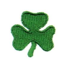 绣花 绿叶 绿色 免费素材