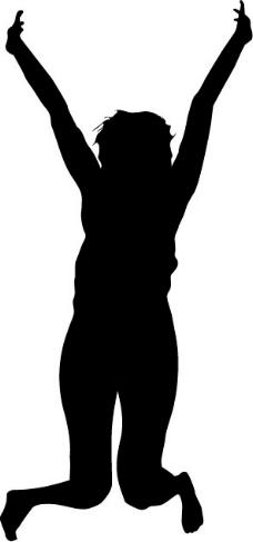 印花矢量图 人物 女人 色彩 黑色 免费素材