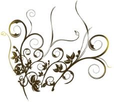印花矢量图 优雅植物 草 毛衫印花 优雅植物 免费素材