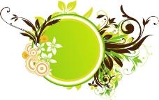 印花矢量图 优雅植物 树 草 花 免费素材