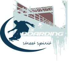 印花矢量图 人物 运动 滑板 建筑 免费素材