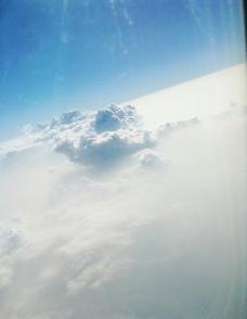 实拍高清云层图片