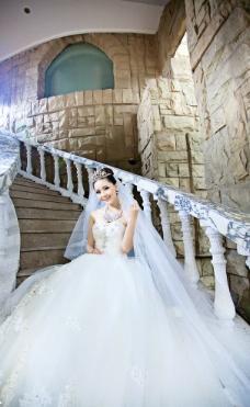 高贵新娘图片