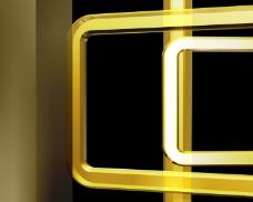 金色金属管