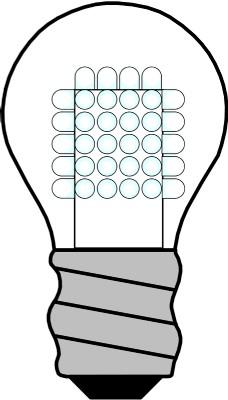 LED灯泡了