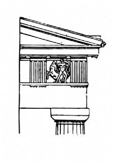 多立克柱式图片