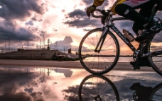 黄昏北戴河图片