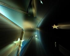 闪光五角星