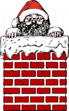 圣诞老人的烟囱