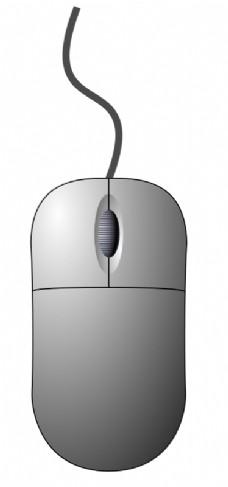 电脑鼠标(自上而下)