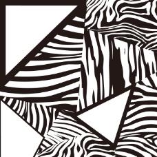 矢量图 混合花纹 个性纹样 免费素材
