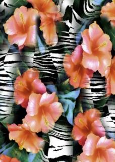 位图 混合花纹 植物花纹 免费素材