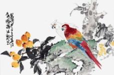 黄旸 写意花鸟小品图片