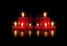 蜡烛的背景