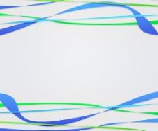 蓝色抽象线条背景