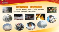 消防展板图片