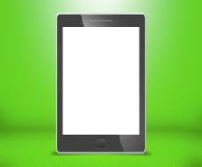 手机触摸屏的绿色背景