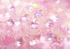 紫色梦幻砖石背景水晶