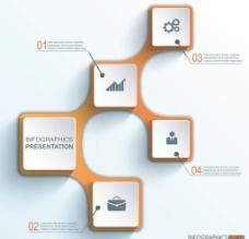 商务演示图标PPT图片